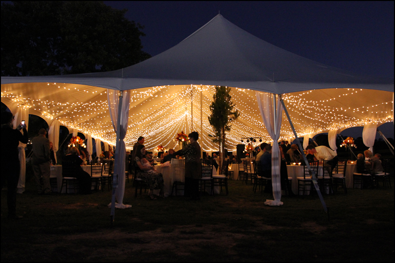 Ideas For Tent Lighting Wedding Event