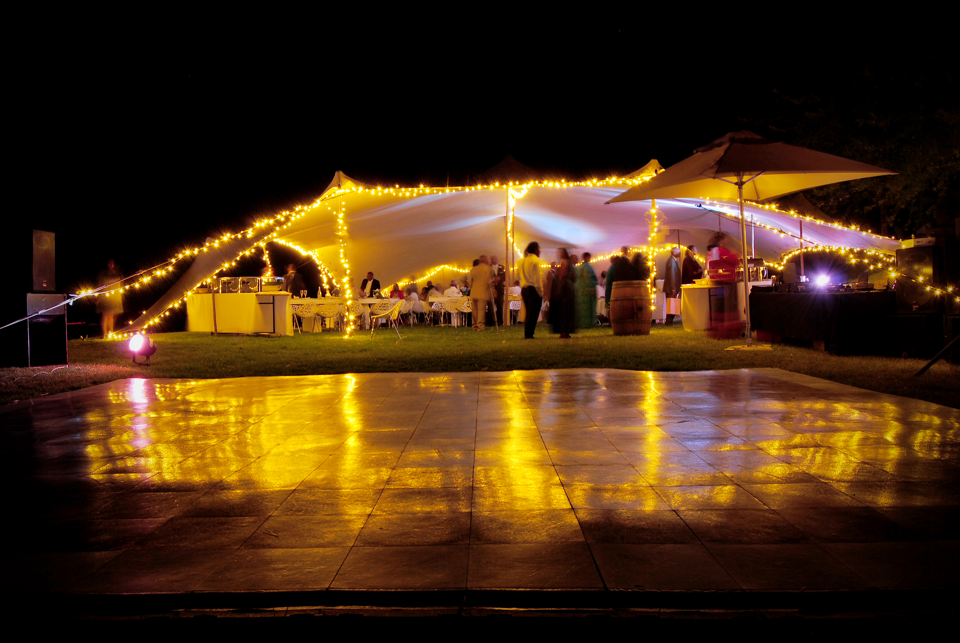wedding tent lighting ideas. DIY Setup At Lievland, Klapmuts Wedding Tent Lighting Ideas N