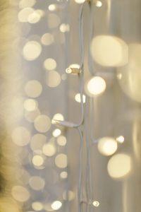'Close-up of Fairy light curtain'