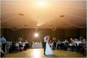 Fairy Light Strings over dance floor